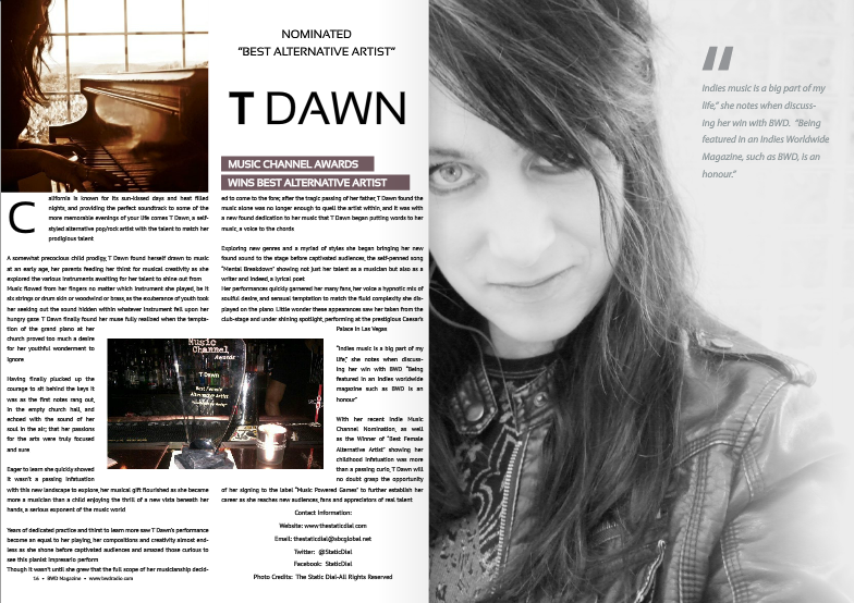 BWD Magazine – A Big Part of My Life