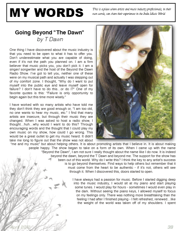 Rising Magazine - Going Beyond the Dawn